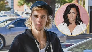 justin bieber and hailey baldwin house hunt at demi lovatos home where she suffered overdose