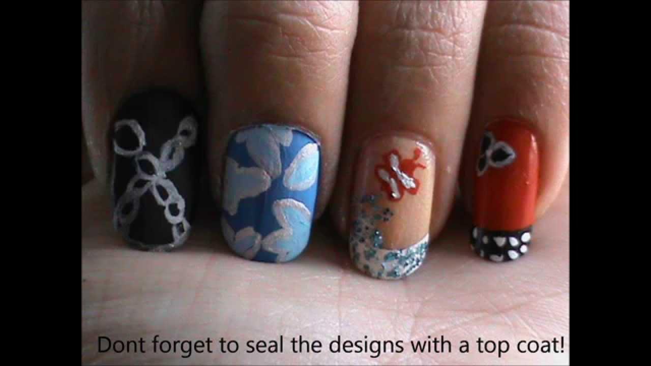 magic nails- easy and natural