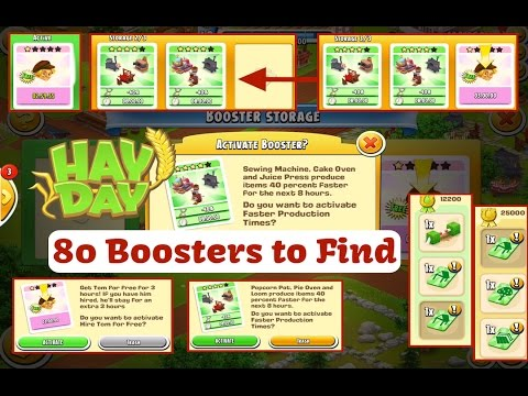 Hay Day Update March 40 Boosters YouTube Best Hay Day Sewing Machine