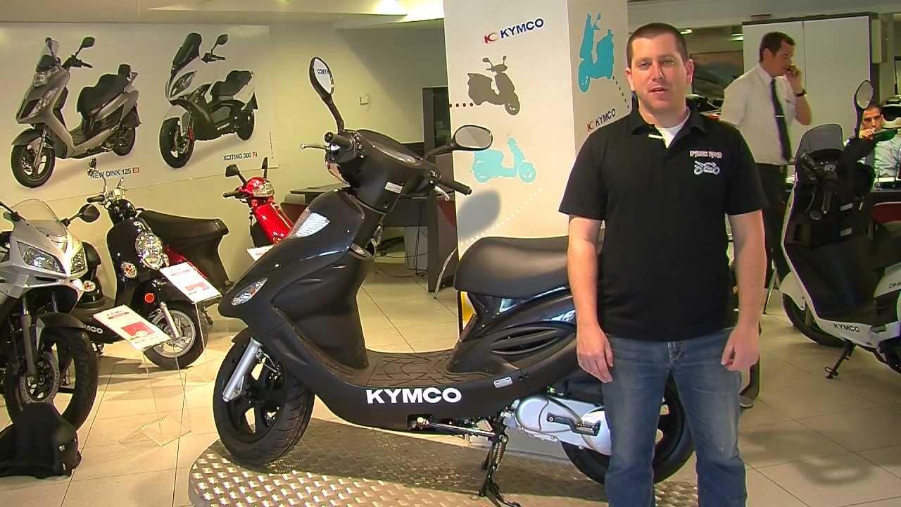 מודיעין פרפקט אופנועים - קימקו מובי - Kymco Movie - YouTube XV-63