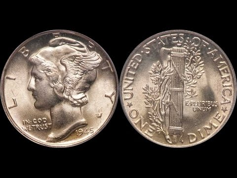 STUNNING Common 1945 Mercury Dime Sells for $10,000!  Why Did it Command So Much Money?