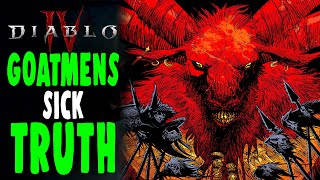 DIABLO 4: Sickening Truth of the GOATMEN of Diablo