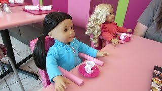 Build-a-Bear and American Girl Mall of American Part 1 - Doll Break Ep. 834