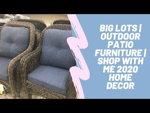 Big Lots | Outdoor Patio Furniture | Shop With Me 2020 Home Decor