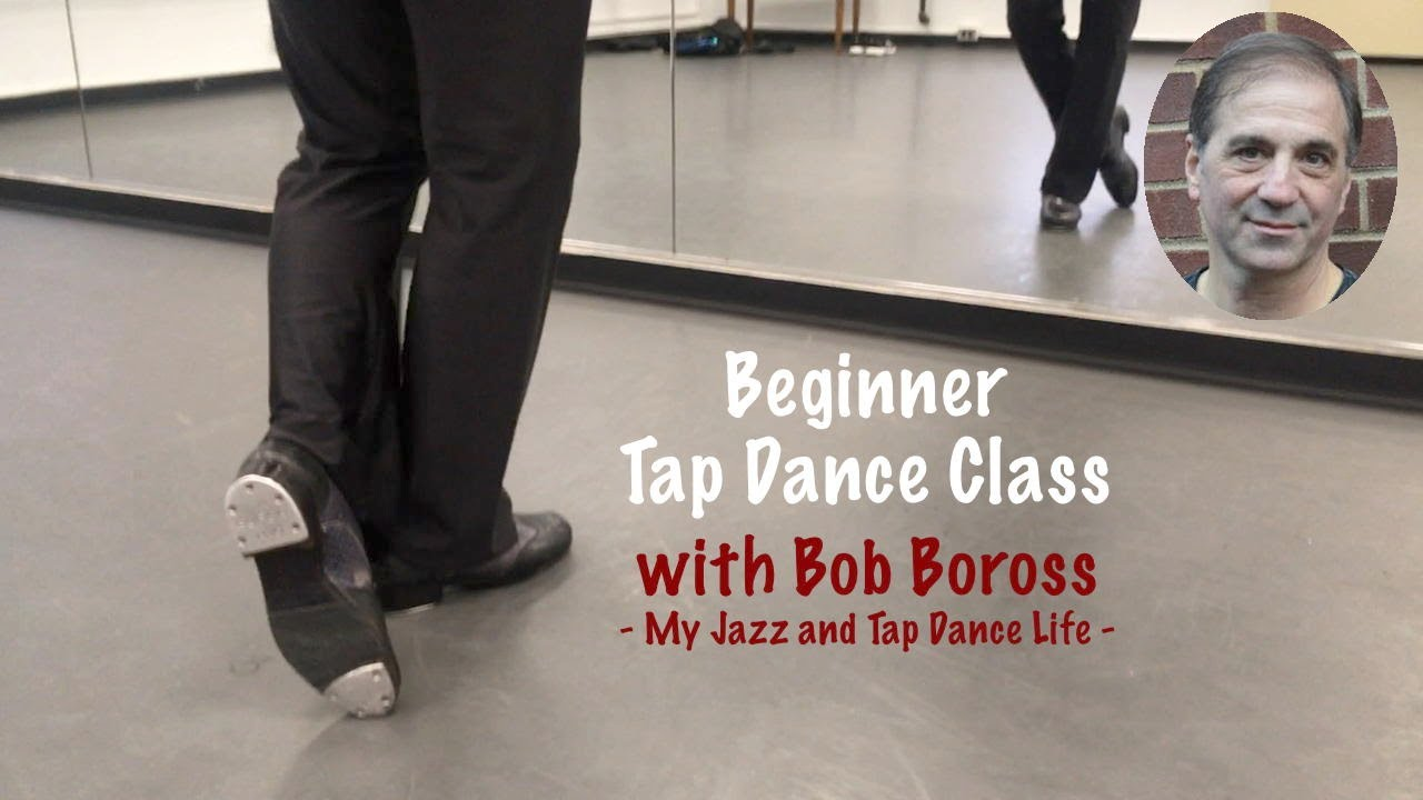 Beginner Tap Dance Class Exercises & Combination