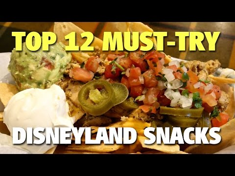 Top 12 Must-Try Disneyland Snacks | Celebrating Disneyland