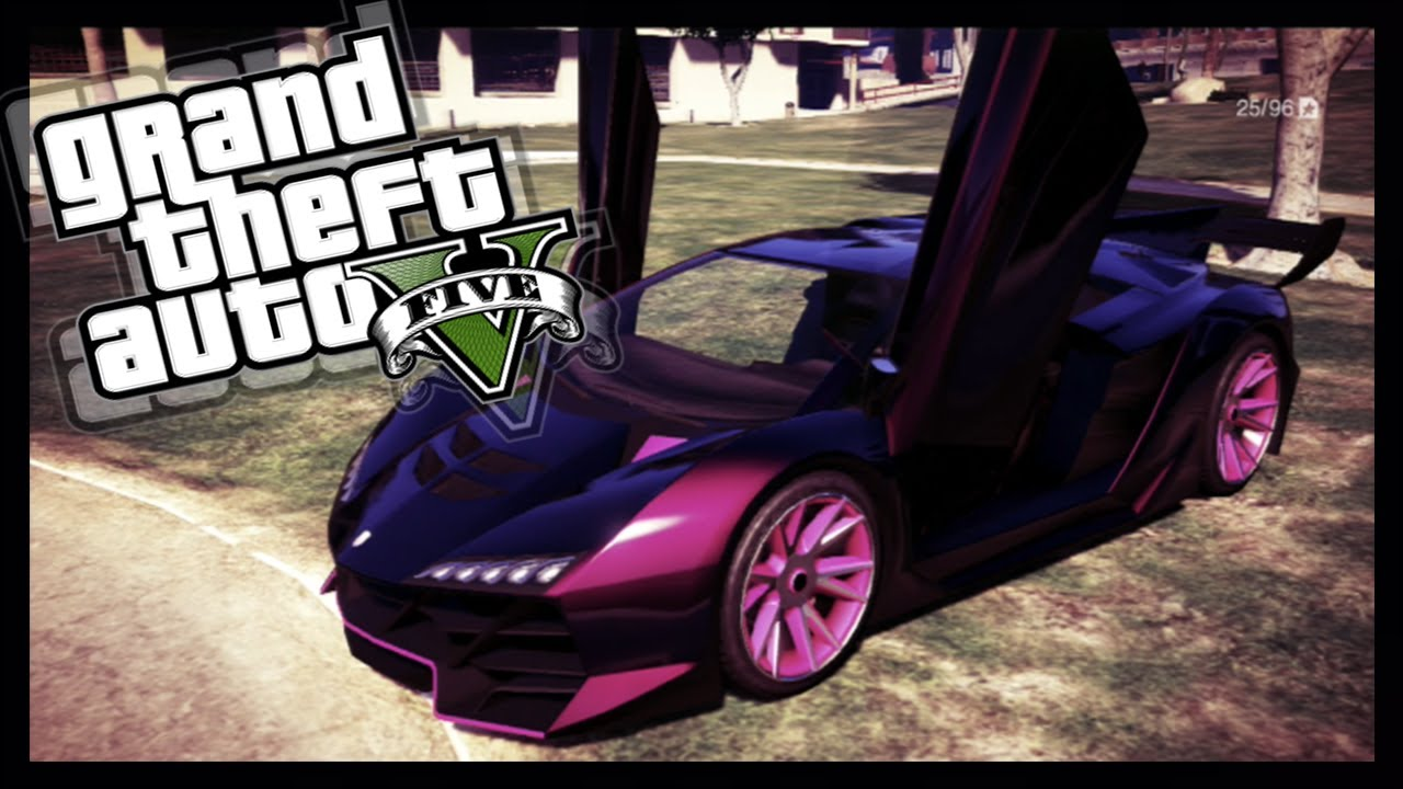 Gta 5 Paint Jobs Secret Midnight Pink Paint Job Custom