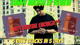 Gambar cover SIKANDER KAHLON- SUNNY MILTON EP REVIEW & ANALYSIS || EP OF DISSES ON SUNNY MALTON