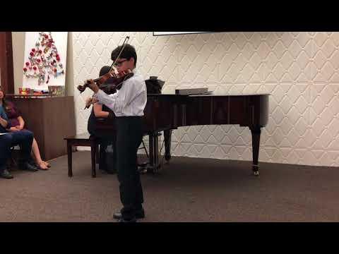 December Vivace Violin Recital 2017 4K