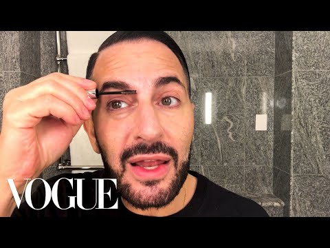 Marc Jacobs&39;s Busy Day Routine With a Fierce Red Lip  Beauty Secrets  Vogue
