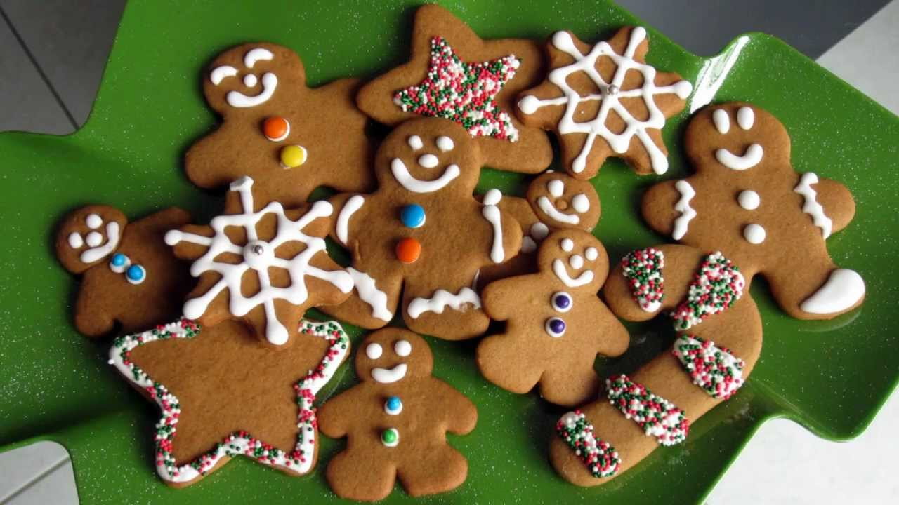 Christmas Treats Gingerbread Cookie Recipe