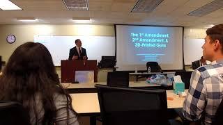 1st Amendment, 2nd Amendment, and 3D-Printed Guns - Texas A&M Law School