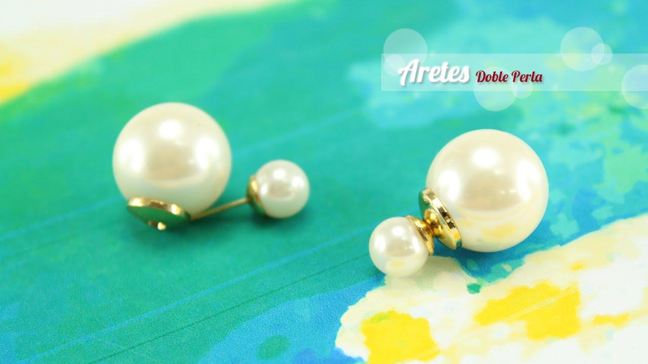 d496b745f3f2 Cómo Puedes Fabricar Tus Propios Aretes Estilo Dior  - YouTube