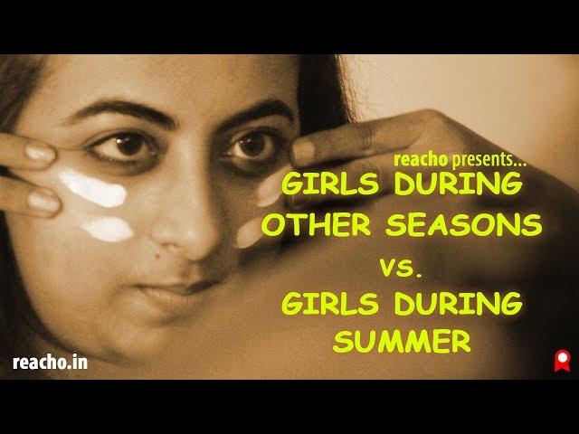 Girls during other seasons vs girls during summer