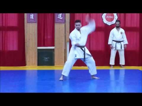 Examen CN 1er Dan de Karate-do RFEK de Carlos Montoya