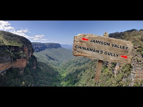 Yowie Sighting (Audio Report #03) in the Jamison Valley, Blue Mountains New South Wales