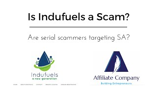 Is Indufuels a Scam? Serial scammer targeting South Africa?