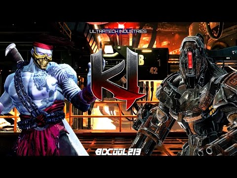 Killer Instinct Kilgore Gameplay Footage - Online Match 36 - Xbox One - Post Season 3 - 60fps