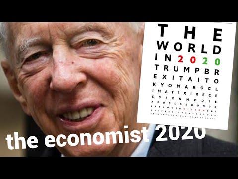 журнал The Economist 2020 конспирология события криптовалюта