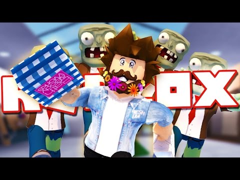 SURVIVE THE ZOMBIES AT A ROBLOX MALL!