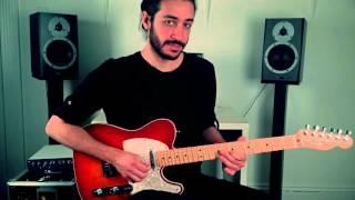 Pentatonic lick in E Minor - Electric Guitar Lesson on Pentatonic Licks