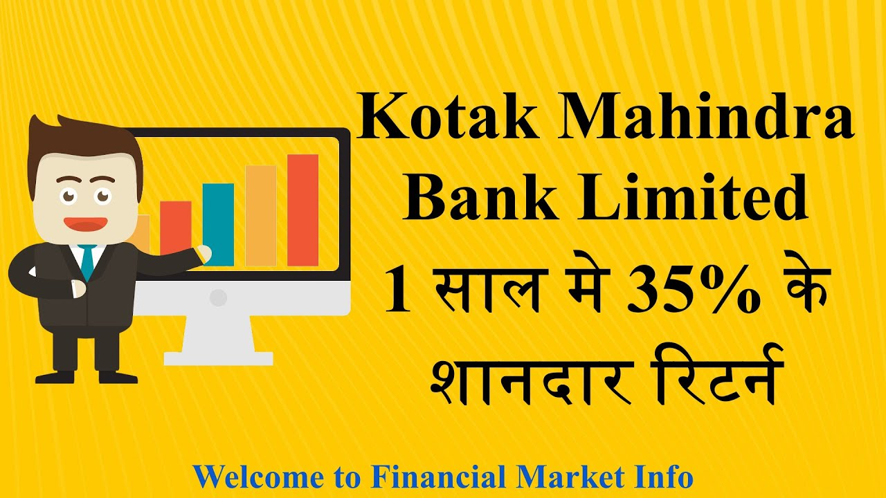 kotak bank share price