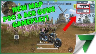 FIRST EXCLUSIVE NEW MAP GAMEPLAY WITH NEW GUNS!! | Rules Of Survival