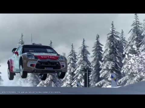 『WRC 4 FIA ワールドラリーチャンピオンシップ』トレーラー