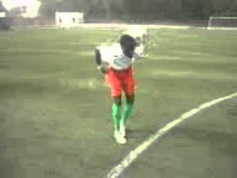 19 Year old football talent Suma from Gambia