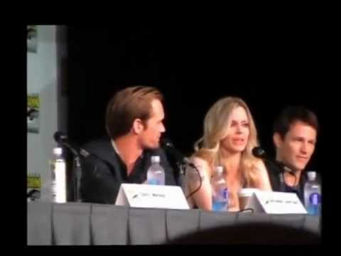 Alexander Skarsgard & Kristin Bauer Get Emotional at Comic Con