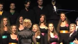 Хор  исполняет Раммштайн Du hast.flv