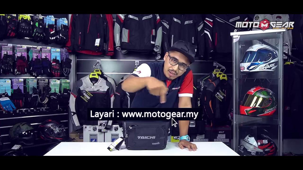 e6ec22bc14 RS Taichi RSB270 Waterproof Waist Bag reviewed by Motogear.my - YouTube