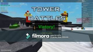 Roblox | Yep I'm back on it! [Tower battles]