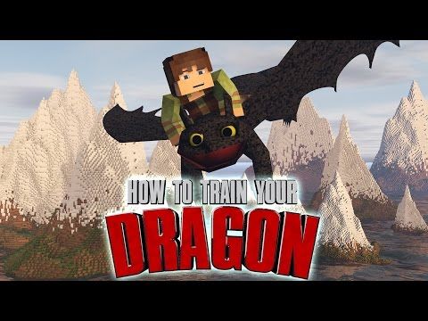 Minecraft Watch How To Train Your Dragon