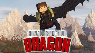 "Minecraft | How To Train Your Dragon Ep 1! ""THE ISLE OF BERK"""