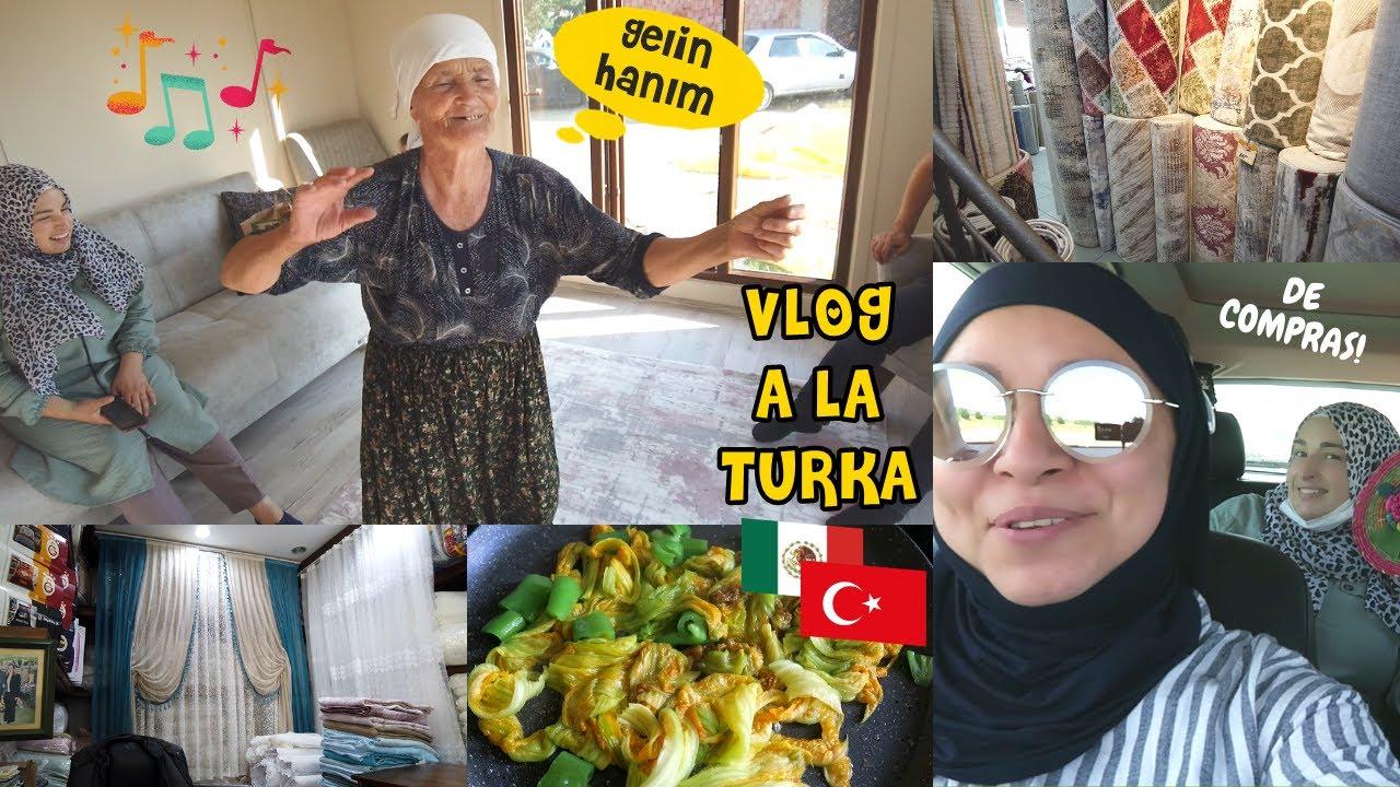 Compra De Cortinas 🇹🇷 Mi Suegra Baila De Alegría + Quesadillas | Mexicana En Turquía