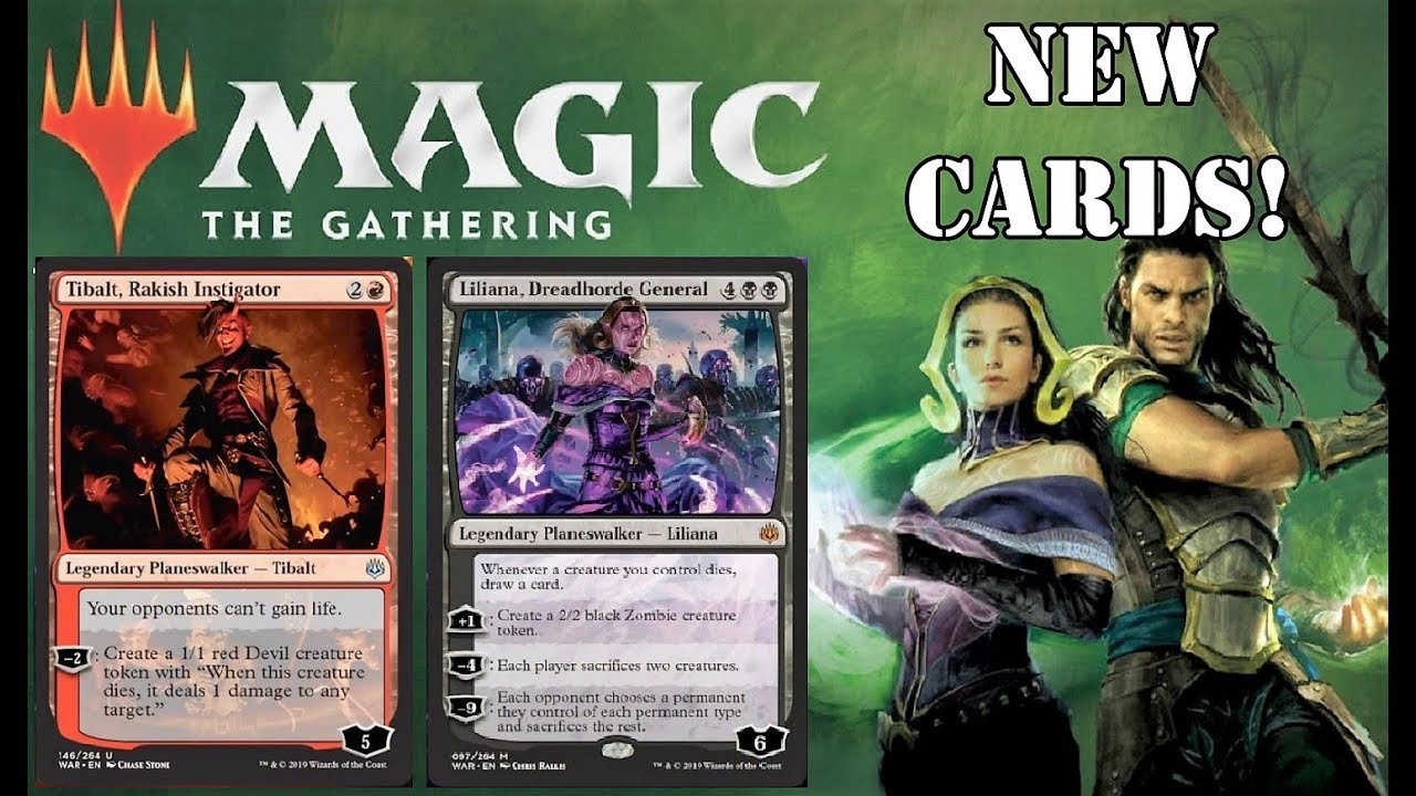 War of the Spark Spoilers Leaked | New Planeswalkers