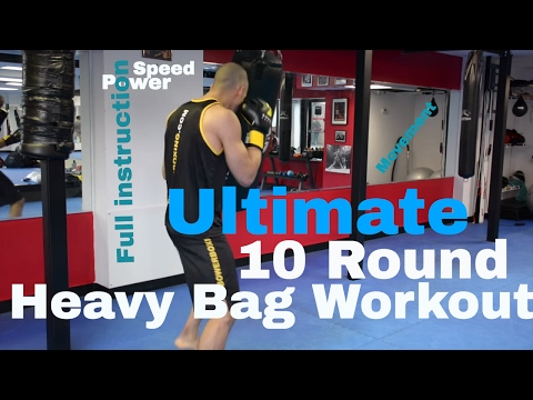 ULTIMATE 10 ROUND Boxing HEAVY BAG WORKOUT
