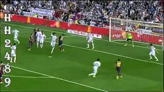 Barcelona vs Real Madrid 1-2 2014 →RESUMEN GOLES← Barcelona 1:2 Madrid - Final Copa Rey -16-04-2014