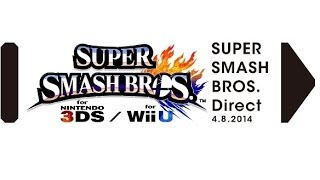 Zach Reacts To Super Smash Bros. Direct Live!  April 8th, 2014
