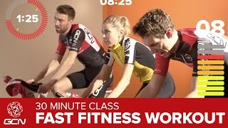 Spinning® Workout – Get Fit With GCN's 30 Minute High Cadence Spin Workout