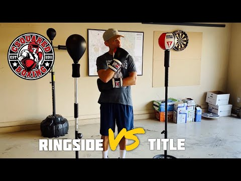 Ringside Cobra Reflex Bag VS Title Boxing Cobra Reflex Bag- COMPARISON REVIEW/ WHICH ONE IS BETTER?