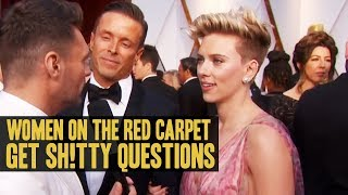 Women On The Red Carpet Get Sh!tty Questions - Today