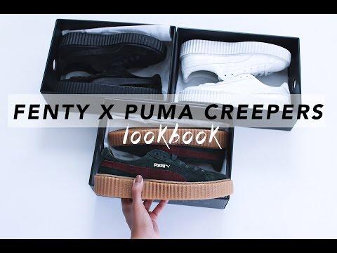Rihanna's FENTY X PUMA Creepers || LOOKBOOK