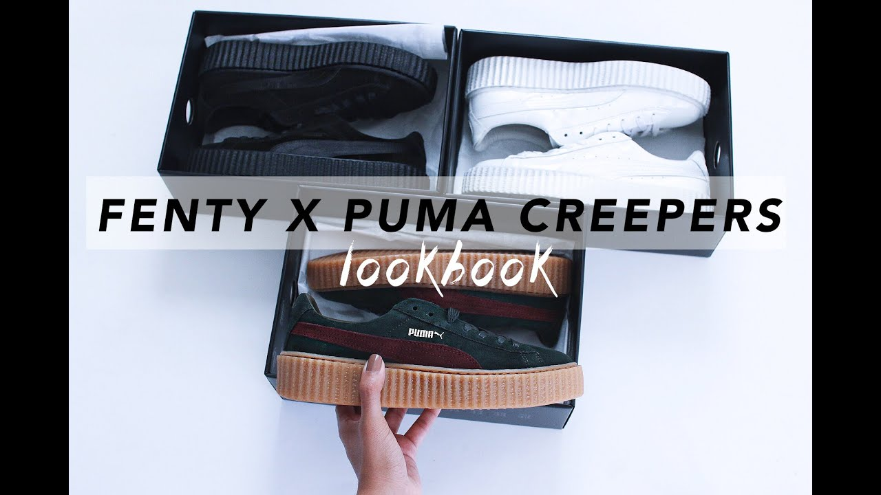 Rihanna s FENTY X PUMA Creepers  ff6bfad5b8