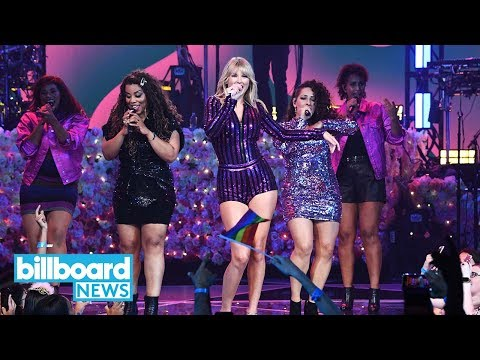 Taylor Swift, Dua Lipa, SZA & Becky G Bring Girl Power to Amazon Prime Day Concert | Billboard News Mp3