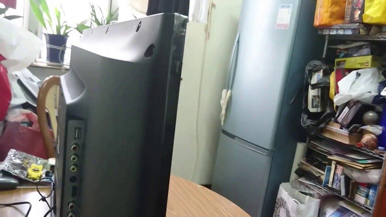 SHARP LC-32LE175H - YouTube