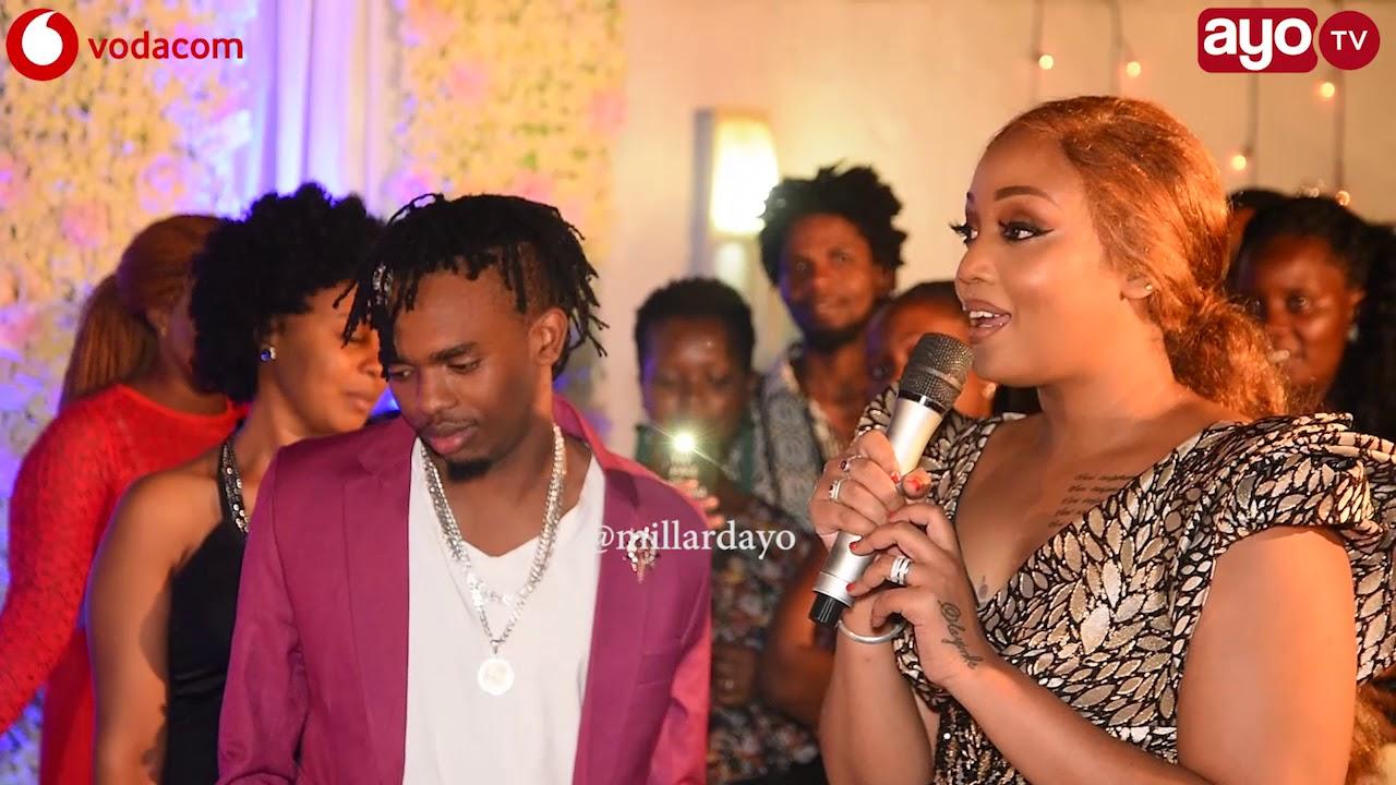 Download Dogo Janja alipomuita Mke wake Irene Uwoya mbele ya Shilole