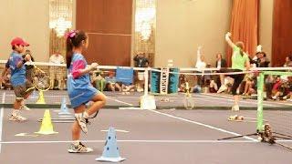 Tennis Games Red Court. Part 1