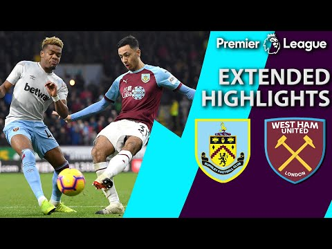 Burnley v. West Ham | PREMIER LEAGUE EXTENDED HIGHLIGHTS | 12/30/18 | NBC Sports